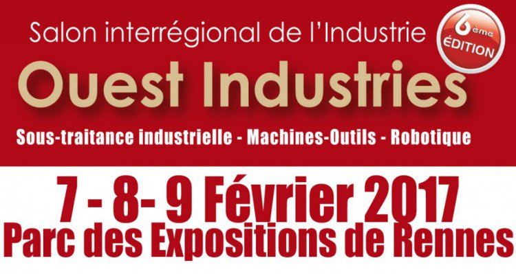 Le ple emc2 au salon ouest industries de rennes du 7 au 9 for Salon de l industrie 2017
