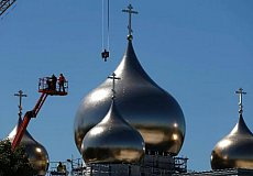 The 5 domes of the Orthodox Cathedral