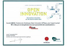 Meca is finalist of Open Innovation Challenges