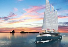 SILENSEAS+ : concept of a sailing ship that meets new environmental challenges