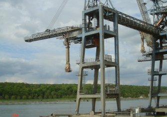 Damage analysis and follow-up of the repair of a cereal loader gantry - SENALIA