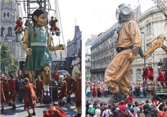 Study of the safety performance of the Great Giant and the Little Giantess - ROYAL de LUXE