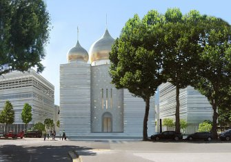 Study and calcul of domes of Saint-Trinity Cathedral in Paris - Bouygues Bâtiment